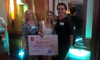 """Patricija Petreković iz Petrinje dobitnica nagrade MINPO-a """"Šegrt Hlapić"""""""