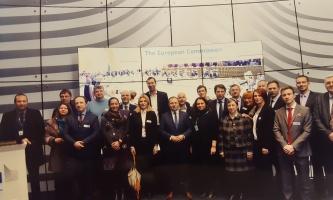 Delegacija HOK-a otputovala u informativni posjet Europskoj komisiji u Bruxelles