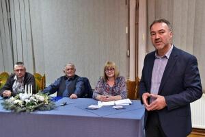 Zamjenika gradonačelnika Grada Novske, g. Siniša Kesić