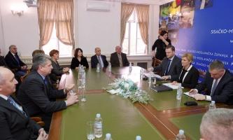 Predstavnici obrtnika Sisačko moslavačke županije na radnom sastanku s Predsjednicom Republike Kolindom Grabar-Kitarović